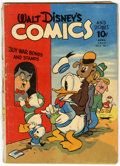 Golden Age (1938-1955):Cartoon Character, Walt Disney's Comics and Stories #31 (Dell, 1943) Condition:FR/GD....
