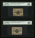 Fractional Currency:Third Issue, Fr. 1236 5¢ Third Issue & Fr. 1237 5¢ Third Issue. . ... (Total: 2 notes)