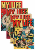 Golden Age (1938-1955):Romance, My Life #4-7 Group (Fox Features Syndicate, 1948-49) Condition:Average VG.... (Total: 4 Comic Books)