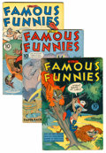 Golden Age (1938-1955):Miscellaneous, Famous Funnies Group (Eastern Color, 1944-45) Condition: Average VG/FN.... (Total: 13 Comic Books)
