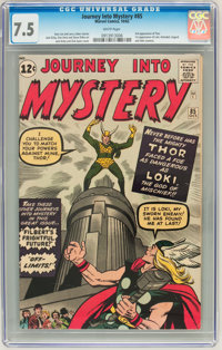 Journey Into Mystery #85 (Marvel, 1962) CGC VF- 7.5 White pages