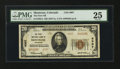 National Bank Notes:Colorado, Montrose, CO - $20 1929 Ty. 2 The First NB Ch. # 4007. ...