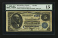 National Bank Notes:Virginia, Winchester, VA - $5 1882 Date Back Fr. 537 The Farmers &Merchants NB Ch. # (S)6084. ...