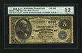 National Bank Notes:Pennsylvania, Bethlehem, PA - $5 1882 Date Back Fr. 533 The Lehigh Valley NB Ch.# (E)2050. ...