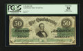 Confederate Notes:1862 Issues, T50 $50 1862 PF-13.. ...