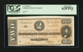 Confederate Notes:1864 Issues, T70 $2 1864 PF-5.. ...