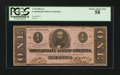 Confederate Notes:1862 Issues, T55 $1 1862 PF-7.. ...