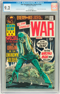 Star Spangled War Stories #154 (DC, 1971) CGC NM- 9.2 White pages