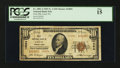 National Bank Notes:Pennsylvania, Cecil, PA - $10 1929 Ty. 2 First NB Ch. # 14094. ...