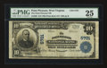 National Bank Notes:West Virginia, Point Pleasant, WV - $10 1902 Plain Back Fr. 633 The Point Pleasant NB Ch. # 5701. ...