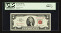 Small Size:Legal Tender Notes, Fr. 1513 $2 1963 Legal Tender Note. PCGS Perfect New 70PPQ.. ...