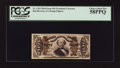 Fractional Currency:Third Issue, Fr. 1324 50¢ Third Issue Spinner. PCGS Choice About New 58PPQ.. ...