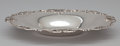 Silver Holloware, American:Bowls, AN AMERICAN OVAL SILVER DISH WITH PIERCED RIM . GorhamManufacturing Co., Providence, Rhode Island, circa 1896. Marks:(lion...