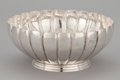 Silver & Vertu:Hollowware, A MEXICAN SILVER FLUTED BOWL . Maker unidentified, probably Mexico City, Mexico, circa 1950. Marks: G.R. STERLING 925 HECH...