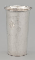 Silver Holloware, American:Cups, A SET OF FOUR AMERICAN SILVER CUPS . A.G. Schultz & Co.,Baltimore, Maryland, circa 1940. Marks: MADE (hand),STERLIN... (Total: 4 Items)