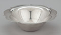 Silver Holloware, American:Bowls, AN AMERICAN SILVER BOWL WITH SHAPED RIM . Tiffany & Co., NewYork, New York, circa 1960. Marks: TIFFANY & CO., MAKERS,STE...