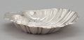 Silver Holloware, American:Bowls, AN AMERICAN SILVER SHELL-FORM DISH . Gorham Manufacturing Co.,Providence, Rhode Island, circa 1950. Marks: GORHAM (lion...