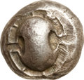 Ancients:Greek, Ancients: BOIOTIA, Thebes. Ca. 480-460 BC. AR stater (12.47 gm)....