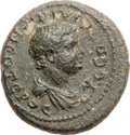 Ancients:Roman Provincial , Ancients: Roman Provincial . Vespasian Junior (died AD 95/6). Æ17mm of Ionia, Smyrna (3.67 gm). ...