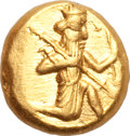 Ancients:Greek, Ancients: Time of Darios I-Xerxes II (ca. 485-420 BC). AV daric (8.32 gm). ...