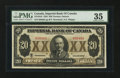 Canadian Currency: , Toronto, ON- Imperial Bank of Canada $20 Nov. 1, 1923 Ch.375-18-10. ...