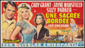 """Movie Posters:Comedy, Kiss Them for Me (20th Century Fox, 1957). Belgian (12"""" X 21""""). Comedy.. ..."""