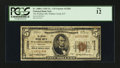 National Bank Notes:Kentucky, Wallins Creek, KY - $5 1929 Ty. 1 The Wallins NB Ch. # 12202. ...