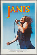 "Movie Posters:Rock and Roll, Janis (Universal, 1975). One Sheet (27"" X 41""). Rock and Roll.. ..."