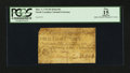 Colonial Notes:North Carolina, North Carolina March 9, 1754 8d Butterfly PCGS Apparent Fine 15.....