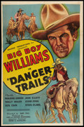 "Movie Posters:Western, Danger Trails (Beacon, 1935). One Sheet (27"" X 40.75""). Western.. ..."