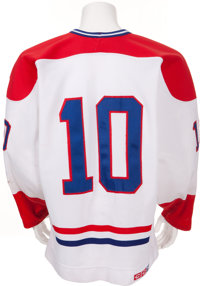 buy popular 84b81 3f9e9 1984-85 Guy Lafleur Game Worn Montreal Canadiens Jersey ...