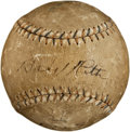 Autographs:Baseballs, 1922 Babe Ruth Single Signed Baseball....