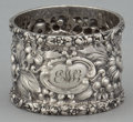 Silver Holloware, American:Napkin Rings, AN AMERICAN SILVER NAPKIN RING . The Stieff Company, Baltimore,Maryland, circa 1924. Marks: STIEFF, STERLING. 1-1/4 x 1...
