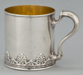 Silver Holloware, American:Cups, AN AMERICAN SILVER AND SILVER GILT CUP WITH HANDLE . WhitingManufacturing Company, New York, New York, circa 1897. Marks: (...