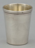 Silver Holloware, American:Cups, A SET OF FOUR SILVER AND SILVER GILT SHOT GLASSES . Maker unknown,probably American, circa 1950. Marks: SILVER. 1-3/4 i...(Total: 4 Items)