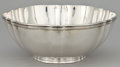 Silver Holloware, American:Bowls, AN AMERICAN SILVER FLUTED BOWL . Tiffany & Co., New York, NewYork, circa 1907. Marks: TIFFANY & CO., 16969 MAKERS 3772,S...