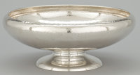 AN AMERICAN SILVER BOWL WITH HAND HAMMERED FINISH Gorham Manufacturing Co., Providence, Rhode Island, circa 1917<...