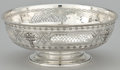 Silver Holloware, American:Bowls, AN AMERICAN SILVER RETICULATED BOWL . Redlich & Company, NewYork, New York, circa 1900. Marks: (lion erased), STERLING,7...