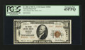 National Bank Notes:Colorado, Akron, CO - $10 1929 Ty. 2 The Citizens NB Ch. # 10901. ...