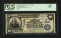 National Bank Notes:Colorado, Akron, CO - $10 1902 Plain Back Fr. 632 The Citizens NB Ch. #(W)10901. ...