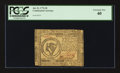 Colonial Notes:Continental Congress Issues, Continental Currency July 22, 1776 $8 PCGS Extremely Fine 40.. ...