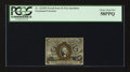 Fractional Currency:Second Issue, Fr. 1232SP 5¢ Second Issue Narrow Margin Face PCGS Choice About New 58PPQ.. ...