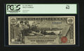 Large Size:Silver Certificates, Fr. 224 $1 1896 Silver Certificate PCGS New 62.. ...