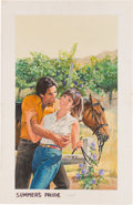 Original Comic Art:Covers, Norm Eastman Summer's Pride Paperback Cover IllustrationOriginal Art (Harlequin Books, c. 1989)....