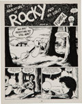 Original Comic Art:Panel Pages, Jaime Hernandez Love and Rockets #9 page 1 Original Art(Fantagraphics, 1984)....