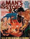 Memorabilia:Comic-Related, Norm Eastman Man's Story Cover Print (undated).. ...