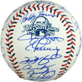 Baseball Collectibles:Balls, 2009 American League All Stars Team Signed Baseball (30Signatures)....