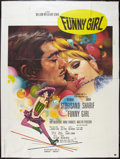 "Movie Posters:Musical, Funny Girl Lot (Columbia, R-1970s). French Grande (47"" X 63""). Musical.. ... (Total: 2 Item)"