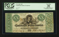 Confederate Notes:1861 Issues, T21 $20 1861.. ...