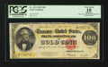 Large Size:Gold Certificates, Fr. 1215 $100 1922 Gold Certificate PCGS Apparent Very Good 10.. ...